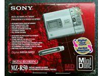Sony Mini Disc Player/Recorder MZ-R50