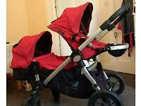 Babyjogger city select double/single buggy