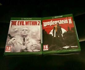 Evil Within 2/Wolfenstein 2: The New Colossus - X-Box One
