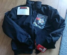 Gerbing black heated motor cycle jacket liner size large