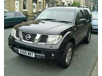 Nissan pathfindar 2.5 Auto 2005 7 seater in very good condition low millage just cover 91000 miles