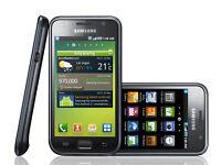Black Samsung Galaxy Si9000 smartphone