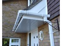 SQUARE GUTTERING 5 METERS WHITE OR BLACK