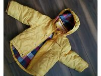 Ben sherman boy yellow winter jacket for sale,