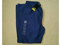 mens rhino rugby tracksuit bottoms training pants size large