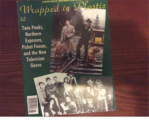 Twin peaks- wrapped in plastic magazine