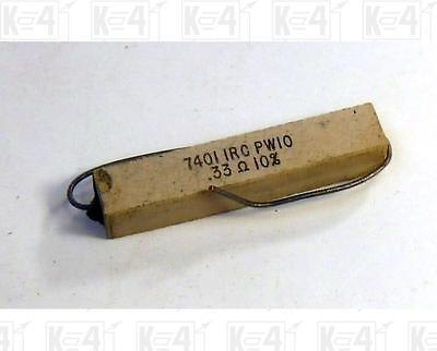 Ceramic 0.33 Ohm 10 Watt Block Resistor 5
