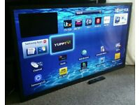 """SAMSUNG 60"""" Ultra-Slim LED FULL HD 3D SMART TV with Built in WiFi, Freeview HD, New Condition."""