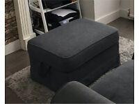 IKEA Ektorp Grey footstool