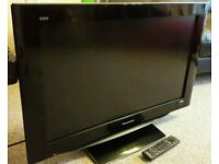 "PANASONIC 32"" LCD TV FULL HD BUILT IN FREEVIEW EXCELLENT CONDITION REMOTE CONTROL FULLY WORKING"