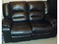 2 seater recliner sofa # FREE DELIVERY