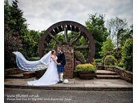 White wedding dress by romantica