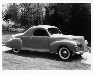 1940 Lincoln Zephyr 3 Window Coupe Factory Photo ad1498-CL4IE9