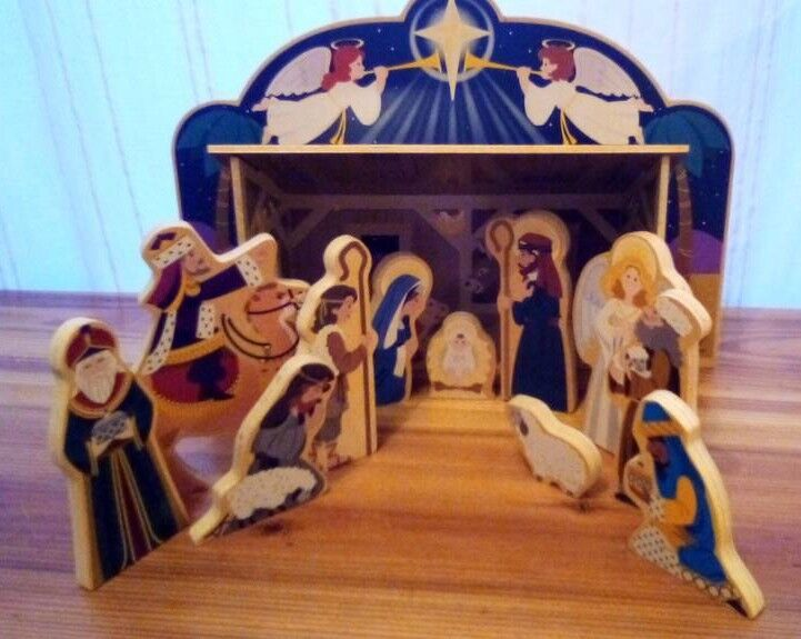 Melissa And Doug Wooden Nativity Scene And Characters In Bournemouth Dorset Gumtree