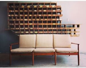 Gorgeous mid-century modern couch for sale.
