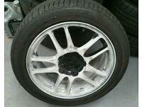 Mitsubishi EVO 9 ENKEI Alloy wheels
