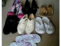 Shoe bundle size 3 £1
