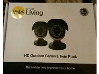 Yale smart living HD outside camera twin pack