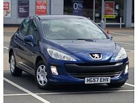 2008 Peugeot 308 Dealership FSH, Full MOT, HPi Clear **No CAMBELT Worry**