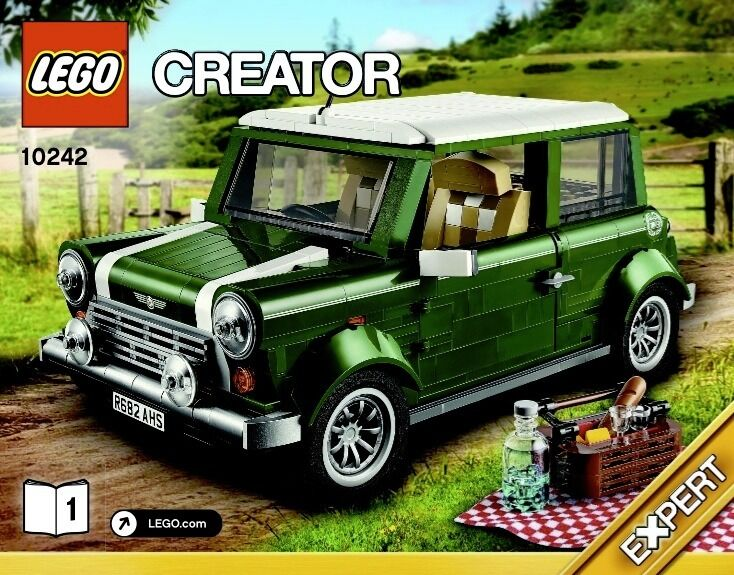 Selling Lego Volkswagen Beetle Lego Mini Cooper Pre Built