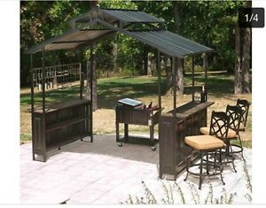 Looking for bbq and bar gazebo