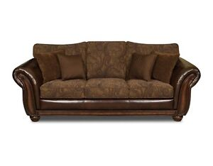 BEAUTIFUL LARGE SOFA AND LOVE SEAT A MUST HAVE