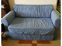Ikea double sofa bed in excellent condition