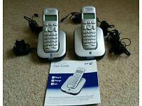 BT Cordless Phone Studio 4100 twin pack