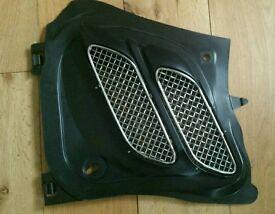206 sp bonnet grill chrome gti 180