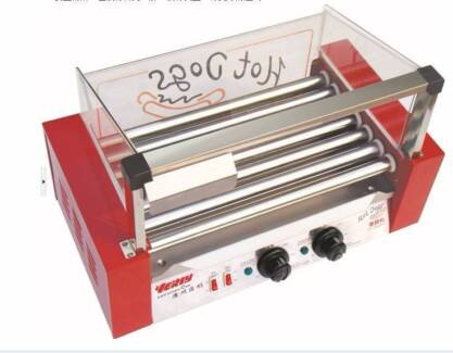 New Commercial 7 Tube Sausage Machine Hot dog Maker Stainless