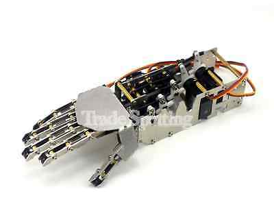 Diy 5Dof Robot Humanoid Right Hand Metal Manipulator Arm W Servos