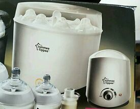 Tommee tippee steam sterilizer and bottle warmer