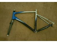 For sale is Giant Defy 3 road/racing bike frame and forks.