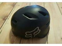 For sale is a Fox bike helmet.