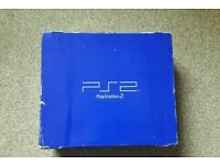 Boxed playstation2 console