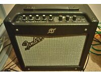 Fender mustang guitar amplifier amp