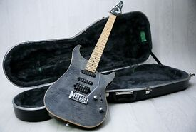 Vigier Excalibur Ultra Blues & Hiscox Hard Case - High End Hand Made in France!