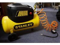 Stanley 24 litre - 8 bar - 1.5 psi Compressor with tools