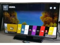 "43""LG SMART LED TV WIFI FULL HD USB FREEVIEW CAN DELIVER"