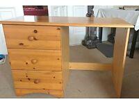 Pine dresser/desk