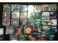 32 PlayStation 1 games all original some rare games