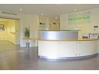 Furnished private office space for up to 15 desks at Northfleet, Basepoint Northfleet Centre