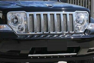 Mopar OEM 2008-2012 Jeep Liberty stainless steel mesh grille insert kit 82211959