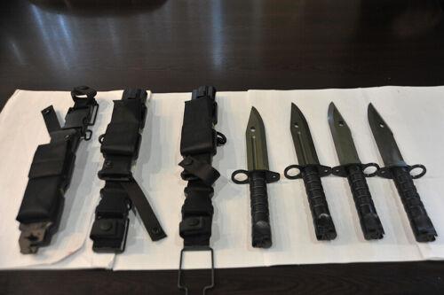 Turkish Army military mpt 76  Bayonet  Bagnet original  fabricated new