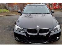BMW 3 Series + 1 Year MOT in metallic black