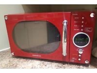 Daewoo Microwave oven - Red