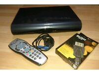 2TB Sky HD box with Wi-Fi and remote