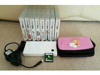 Nintendo Dsi + 9 games inc Nintendogs