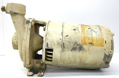 Century Electric Motor 34hp Cat H446 Frame J56j With Deming Pump 32580