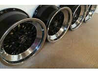 ETA BETA LUCY 9, BMW 16Inch wheels 9inch wide 5x120 Deep Dish E3 to E28 E30